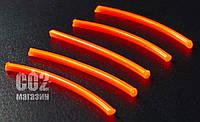 Фиберглассовые нити для прицельных планок и мушек (фибероптические нити, 3 мм, красный)
