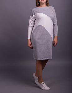 """Трикотажное женское платье """"Двунитка"""", размеры от 42 по 70"""