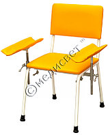 Стул донорский медицинский СД-2 с двумя подлокотниками (кресло для забора крови)