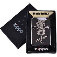 Зажигалка бензиновая Zippo в подарочной упаковке 4727-1 SO