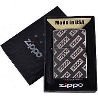 Зажигалка бензиновая Zippo в подарочной упаковке 4727-2 SO