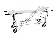 Тележка медицинская ТБС-150 для перевозки больных со съемными носилками