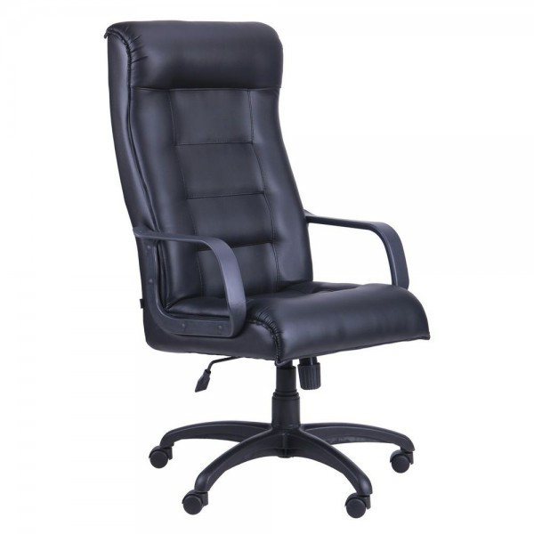 Кресло руководителя Роял подлокотники пластик, механизм TILT, TM AMF