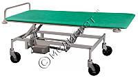 Тележка медицинская ТПБЕ для транспортировки пациентов с регулировкой высоты с электроприводом