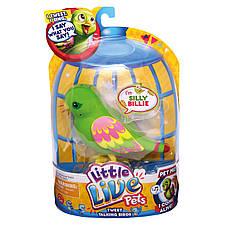 Интерактивная игрушка «Little Live Pets» (28020) птичка глупый Билли (Silly Billie), фото 2