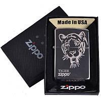 Зажигалка бензиновая Zippo в подарочной упаковке 4727-4 SO