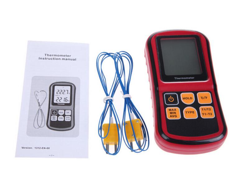 Высокотемпературный термометр GM1312 с дополнительной термопарой