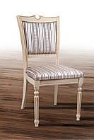 """Деревянные стулья """"Сицилия Люкс"""" (слоновая кость+патина), фото 1"""