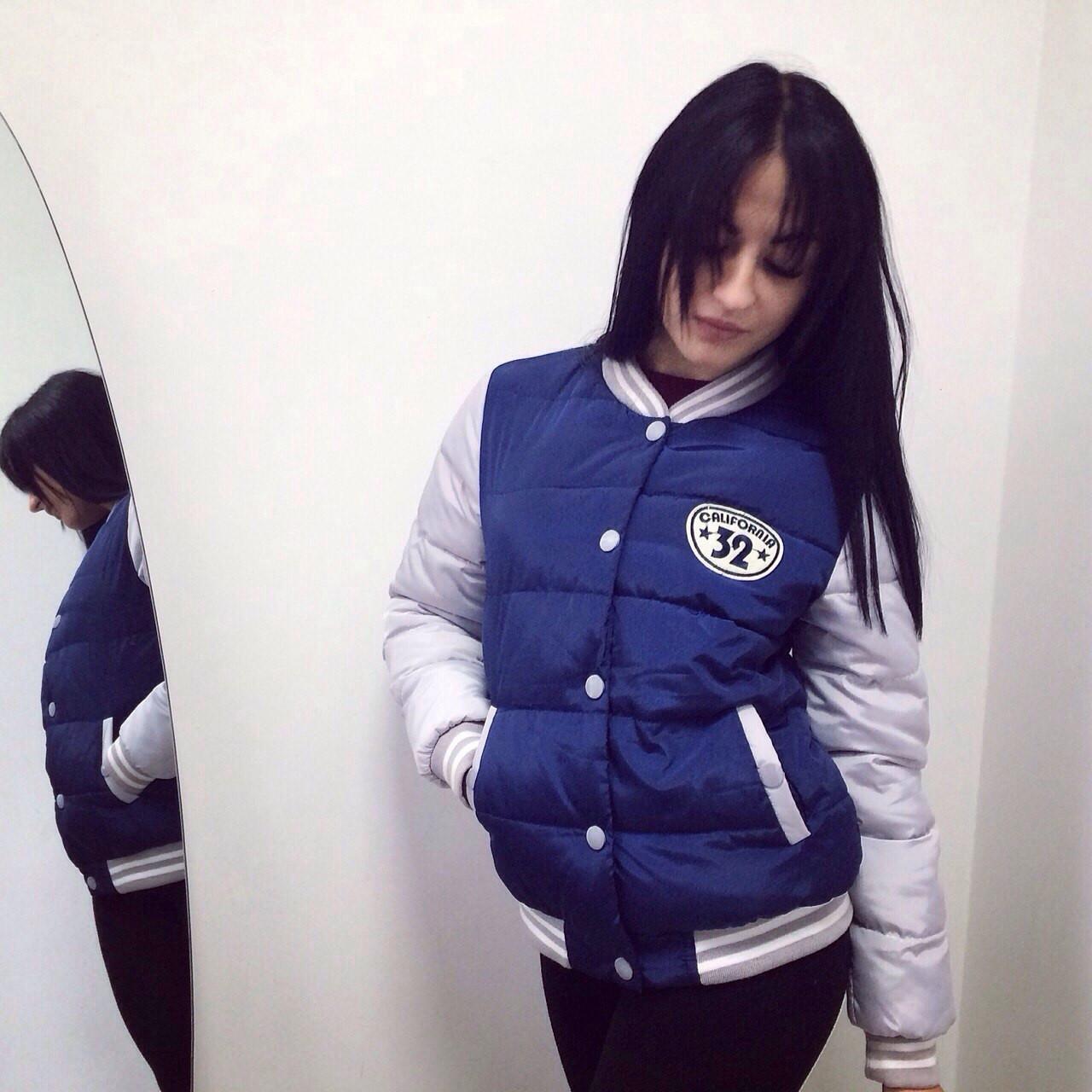 372caaf0433 Молодежная осенняя куртка спортивный стиль - Магазин семейных покупок