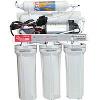 Фильтр осмос Новая Вода NW-RO525P Smart+ помпа