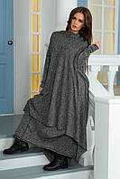 Костюм пончо и юбка в бохо стиле