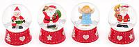 "Водный шар ""Дед Мороз/Ангел/Снеговик"" 6 см"