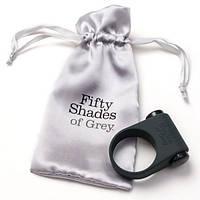 """Fifty Shades of Grey - Эрекционное виброкольцо """"Почувствуй это, детка"""""""