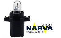 Лампа с патроном 12V 1,2W цоколь - B8,3d щиток приборовов NARVA 17036