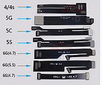 Шлейф для тестирования дисплея комплект(Apple iPhone 4,4S,5,5C,5S,6,6 Plus,6S,6S Plus)