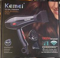 Профессиональный фен для волос Kemei KM-8860