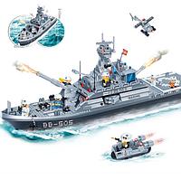 """Конструктор BANBAO 8413 """"Военный корабль"""", 858 дет"""
