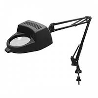 Лампа-лупа BAMBINO черная, кронштейн
