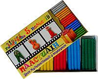Набор для лепки с уроком мультипликации 5 цветов, 110 гр.