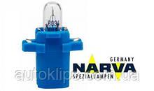 Лампа с патроном 12V 2W цоколь-B8,3d щиток приборов NARVA 17058