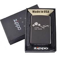 Зажигалка бензиновая Zippo в подарочной упаковке 4729-1 SO