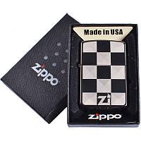 Зажигалка бензиновая Zippo в подарочной упаковке 4729-2 SO