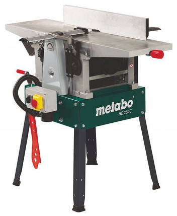 Рейсмусово-фуговальный станок Metabo HC 260 C-2.8 WNB, фото 2