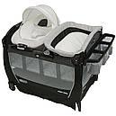 Манеж ліжко-манеж з переносною колискою Graco Snuggle Suite LX Pierce, фото 3