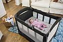 Манеж ліжко-манеж з переносною колискою Graco Snuggle Suite LX Pierce, фото 4