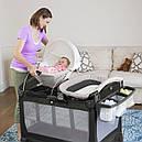 Манеж ліжко-манеж з переносною колискою Graco Snuggle Suite LX Pierce, фото 7