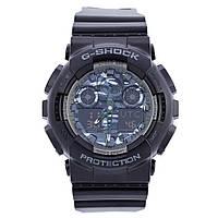 Спортивные наручные часы Casio G-Shock GA-100-1A1ER AAA копия - полный комплект