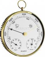 Барометр TFA з термометром і гігрометром, пластик, d=135 мм