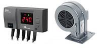 Комплект для твердотопливного котла автоматика и турбина (вентилятор) KG Elektronik  CS20 - DP02