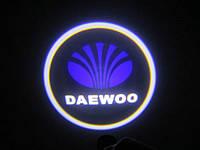 Подсветка дверей автомобиля, проекция логотипа Daewoo