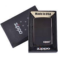 Зажигалка бензиновая Zippo в подарочной упаковке 4731-1 SO
