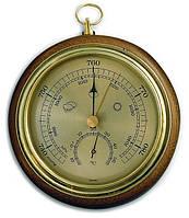 Барометр TFA с термометром, дуб, 120 мм, d=105 мм
