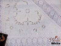 Скатерть на круглый стол 160хQ KAYAOGLU Star. Белая.