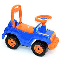 Машинка для катания 4 х 4 синяя ОРІОН 549