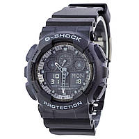 Спортивные наручные часы Casio G-Shock GA-100-1A1ER AAA копия - полный комплект, фото 1