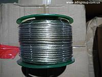 Трос металлополимерный в оплетке ПВХ ПР-4.0