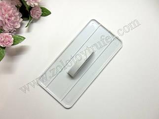 Утюжок для мастики прямоугольный 15*8 см.