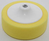 Круг полировальный желтый на платформе150*50 mm жесткий