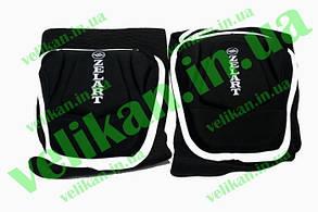 Наколенник волейбол (2шт) ZEL ZK-4209-M (PL, EVA, неопрен, р-р M, синий,черный)