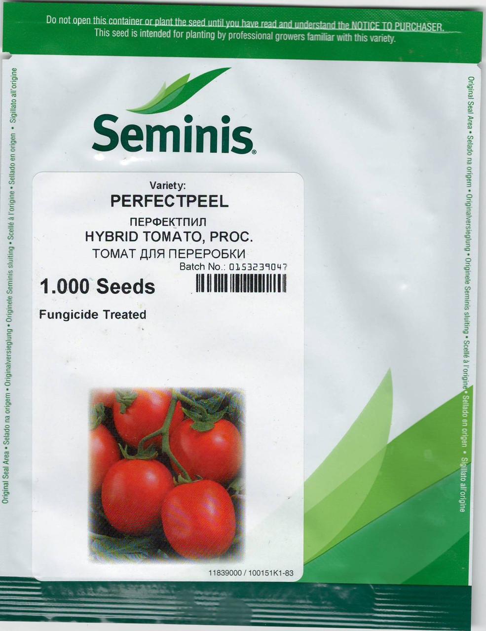 ПЕРФЕКТПИЛ F1 / PERFECTPEEL F1 - томат Seminis 1000 семян, фото 1