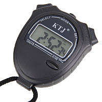 Электронный спортивный секундомер ТА228, время, календарь, будильник, с ремешком, 80х66х20 мм