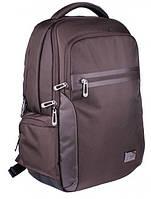 """Коричневый рюкзак с отделением для ноутбука 15,6"""" и планшета из текстиля 25 л. Roncato Desk 7181/44"""