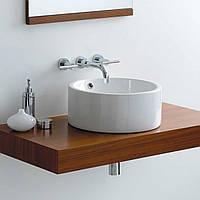 Накладной умывальник в ванную Rocio A8003, керамический, на столешницу, тумбу