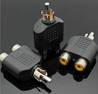 RCA двойник аудио видео сплиттер #100048