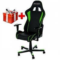 Кресло DXRacer Formula OHFD99NE (чёрнозеленые вставки)