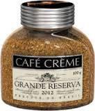 Растворимый кофе CAFE  CREME GRAND RESERVE  высший сорт 100 грамм